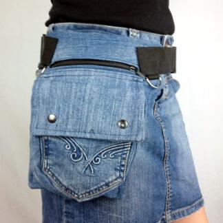 heuptas spijkerbroek