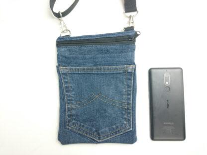 schoudertasje spijkerbroek