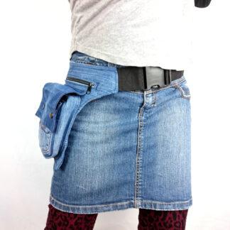 spijkerbroek heuptas
